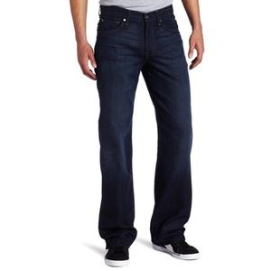 NWT 7 For All Mankind Beauregard Relaxed Fit Jean